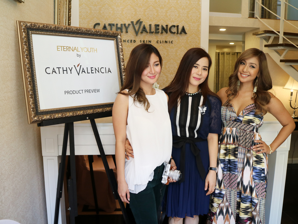 Cathy Valencia's Eternal Youth Line