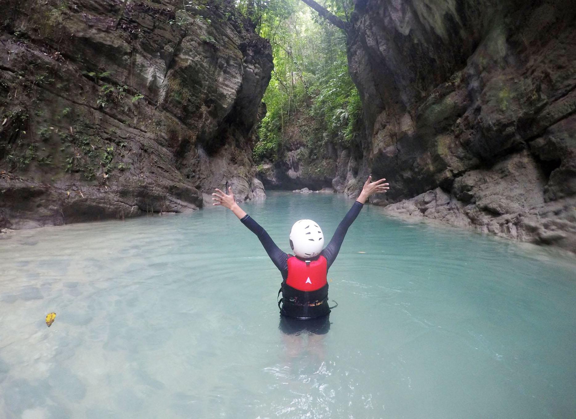 Canyoneering and Kawasan Falls Cebu Trip 6