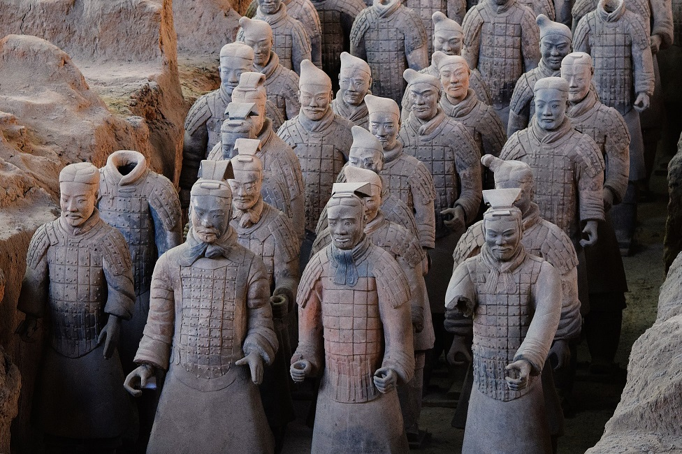 The Terracotta Warriors in Xi'an-pic