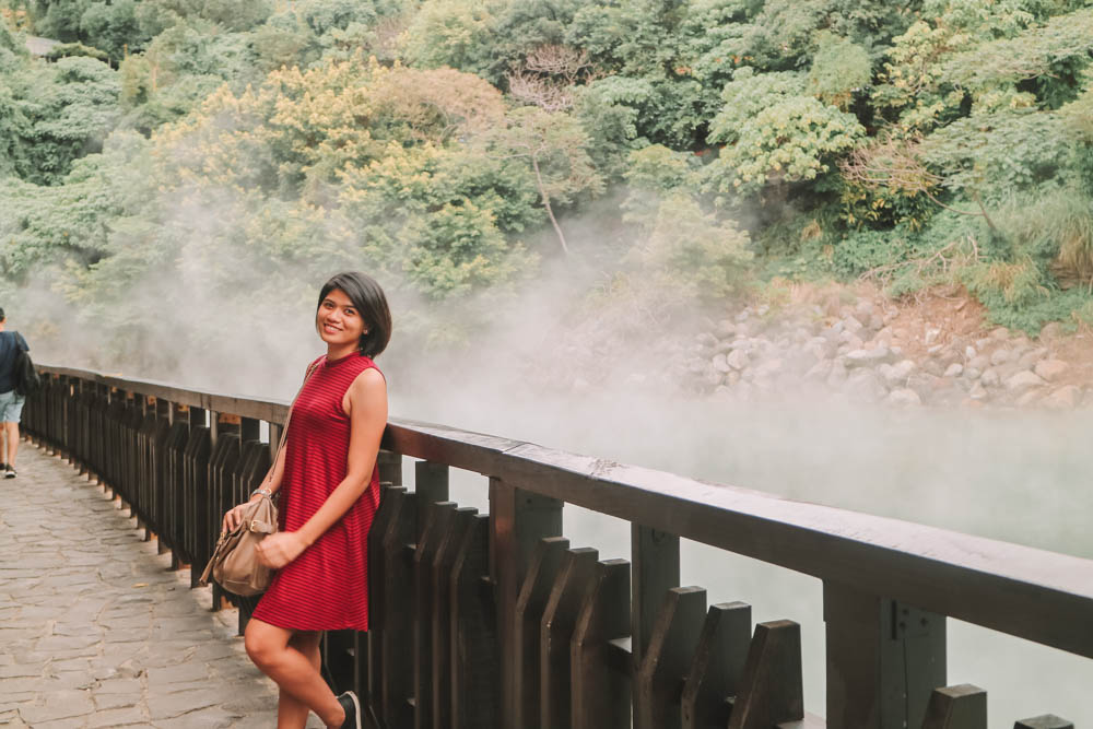 Beitou Thermal Valley in Taiwan
