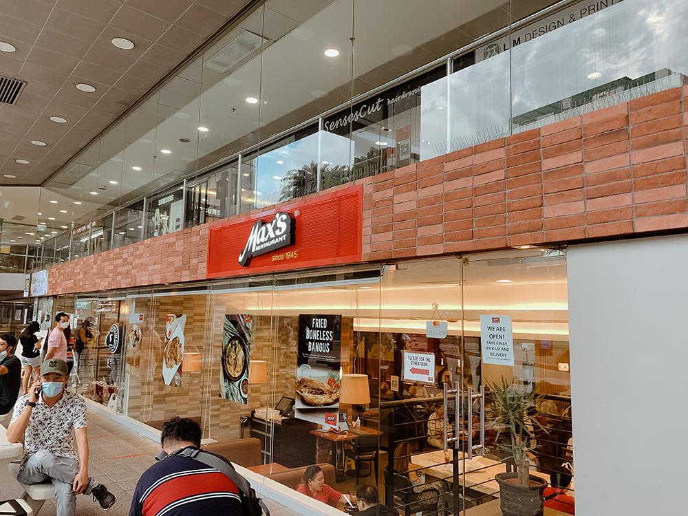 Max's Restaurant Singapore