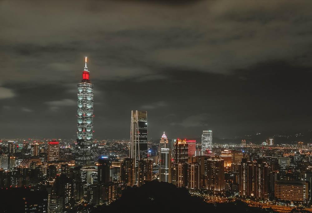 Taipei101 view from Elephant Mountain