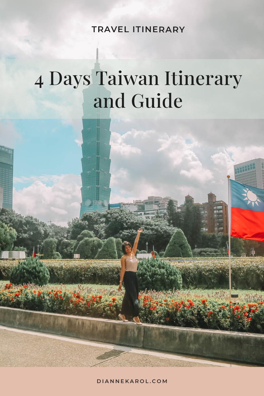 Taiwan Travel Itinerary