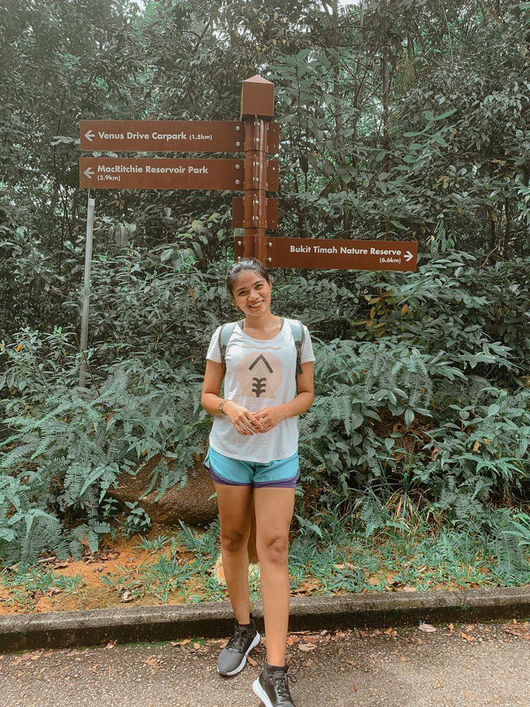 MacRitchie Reservoir Park to Bukit Timah Nature Reserve